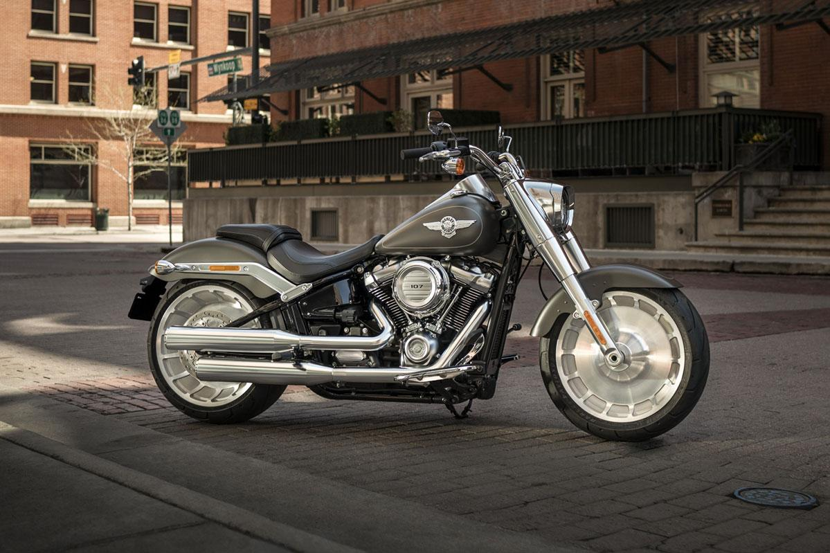 Harley-Davidson® Fat Boy® 107