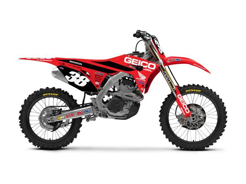 Honda CRF250R Geico