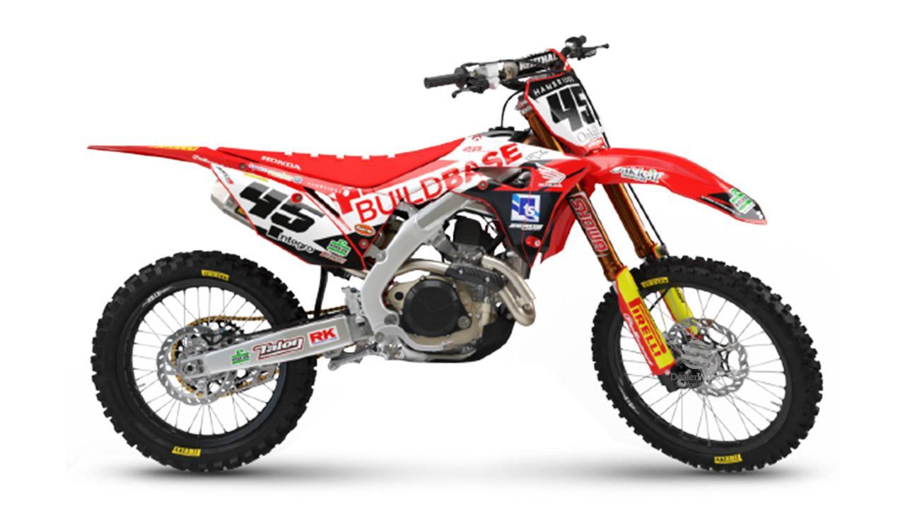 Honda CRF250R Buildbase