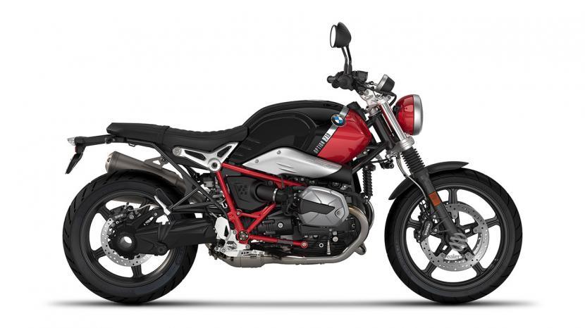 Option 719 Black storm metallic/Racing red