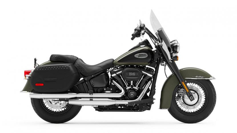Deadwood Green Vivid Black  (114 Engine with Black Finish)