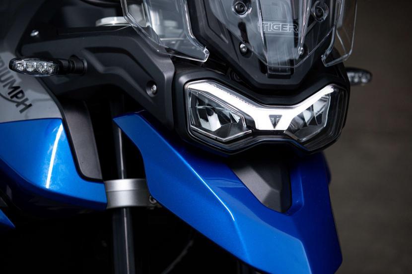 Tiger 850 Sport - LED headlight and indicators