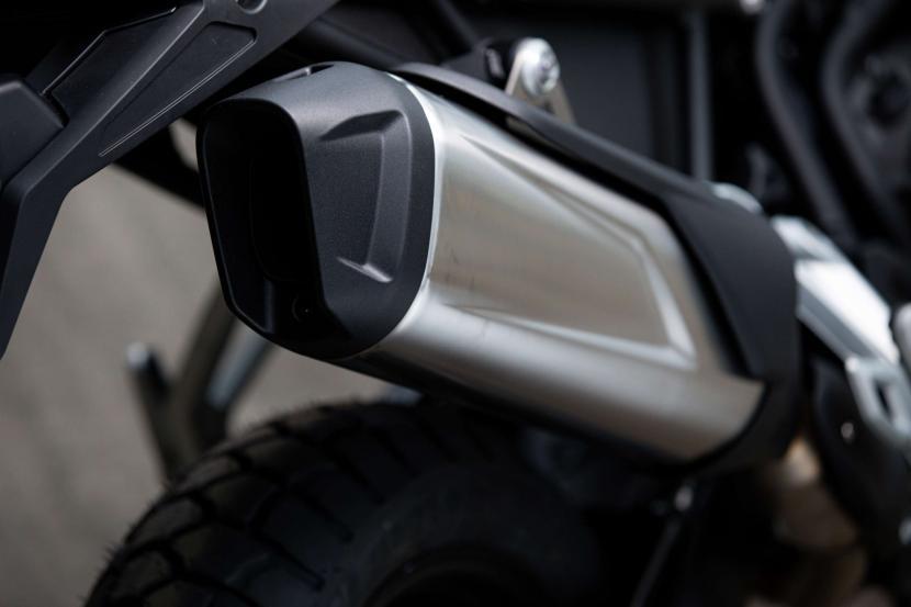 Tiger 850 Sport - Exhaust Silencer